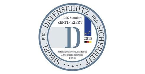 DSC-Standard-zertifiziert - Stefan Blum Consulting